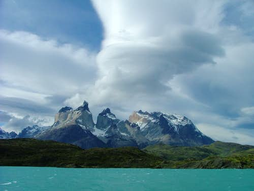 Cuernos del Paine (... in stormy weather)