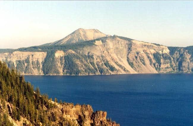 Mt. Scott from across the...