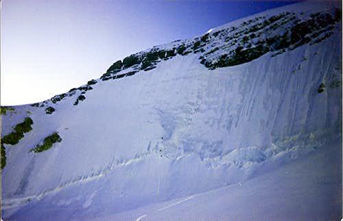 Mt. Athabaska, North Face