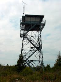 Fire Tower on Feldtmann Ridge