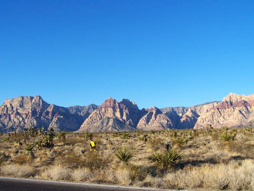 Mountains in Red Rock Canyon
