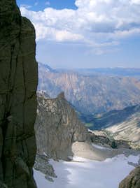 Looking North from the East Couloir of Matterhorn Peak