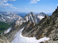 Whorl Mountain form the Slopes of Matterhorn Peak