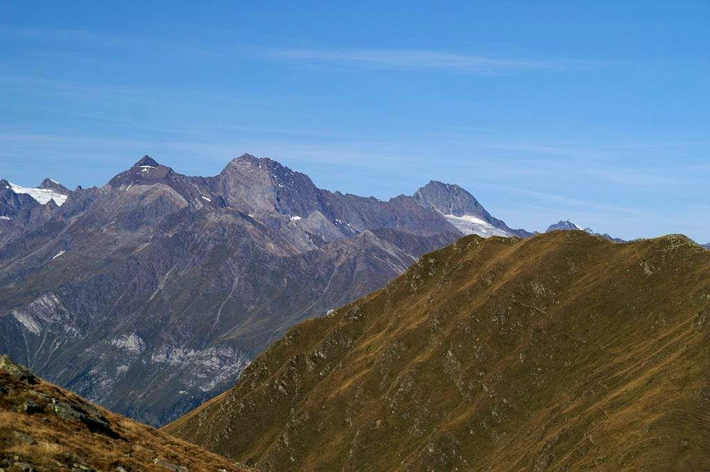 Liebener Spitze (3389m), Hochfirst (3403m), Granatenkogel (3302m)