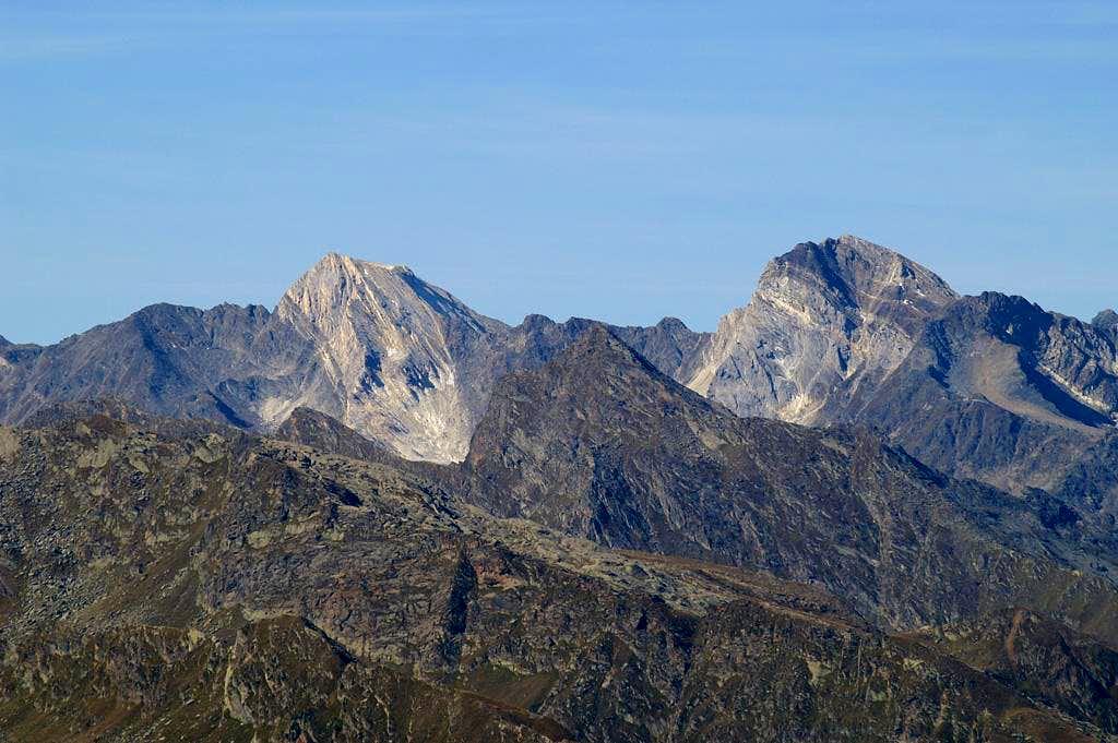 Lodner (3228m), Hohe Weiße (3278m)