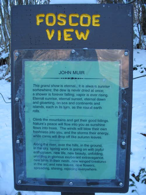 Why we Hike...by John Muir