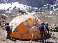 Base Camp January 2003
