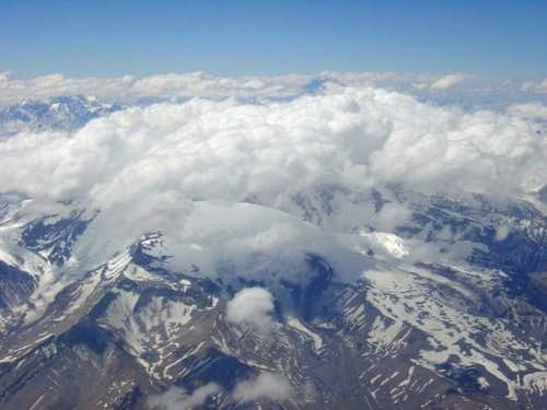 Aconcagua by plane!
