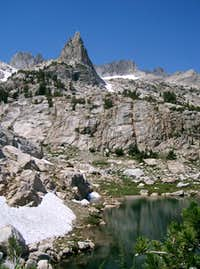 Horse Creek Tower with Sawtooth Ridge in the Backgound