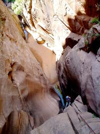 canyon outside of zion