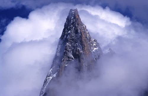 The peak of Grand Dru