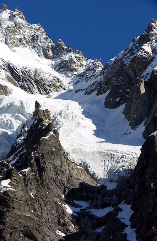Il ghiacciaio di Pra Sec