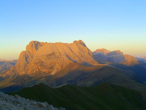 Another Dolomite Sunset