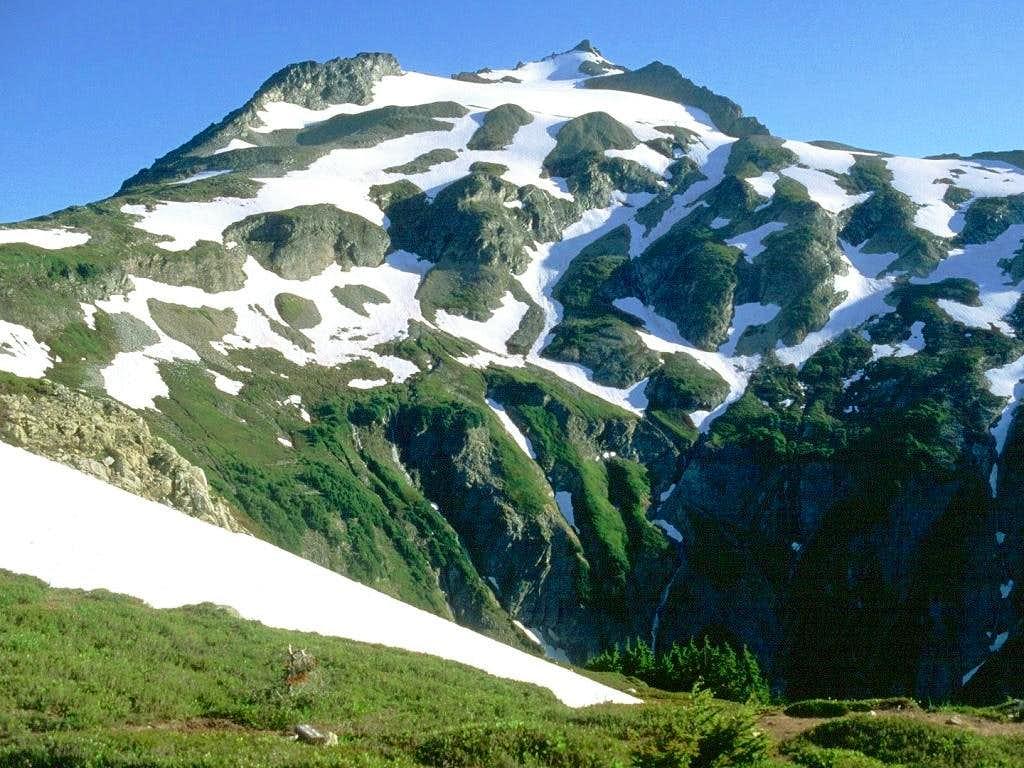 Sahale Peak as seen from low...