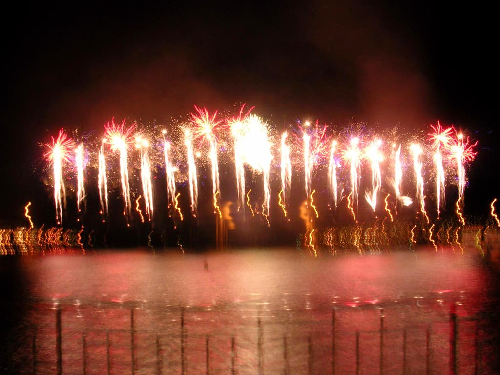 Fireworks in Tromso