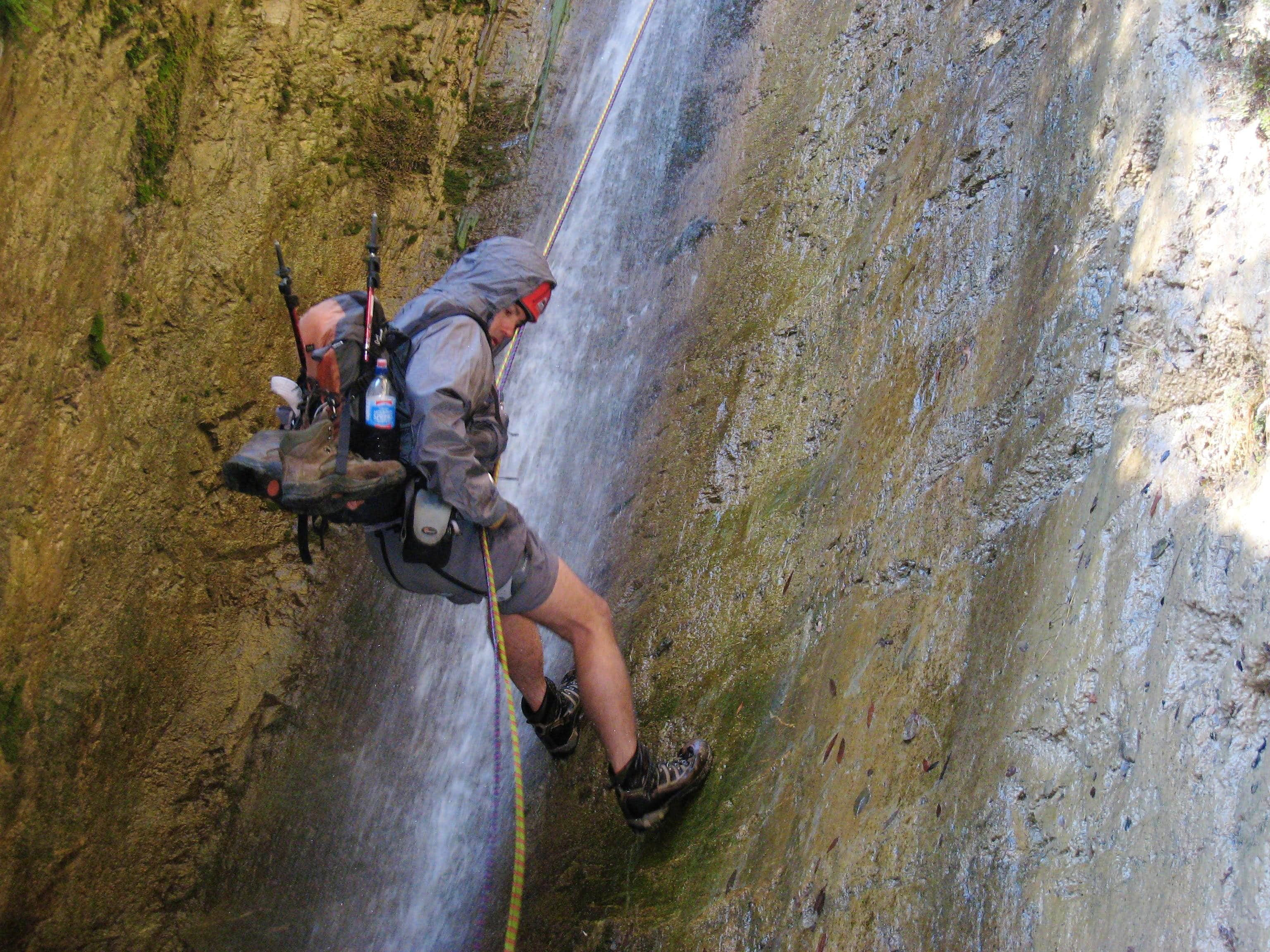 Canyoneering in the San Gabriels