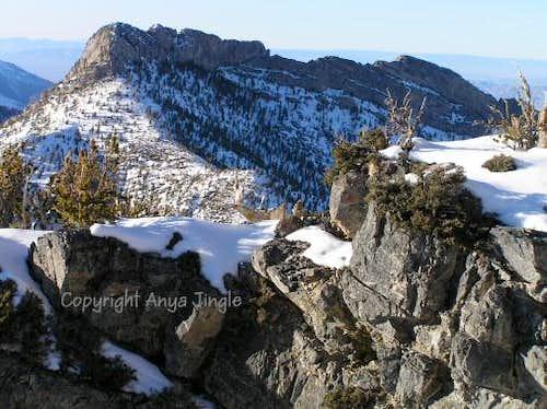 Macks Peak from North Sister