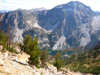 Parks Peak over Farley Lake