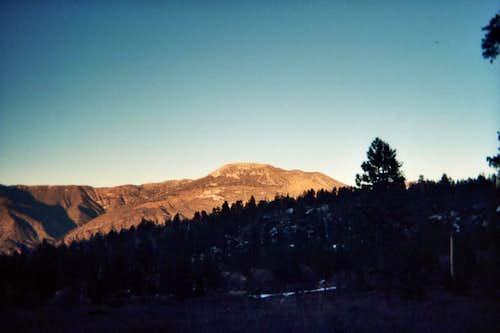 Sugarloaf Mountain at Sunset