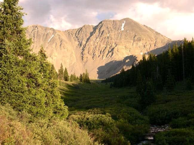 Drift Peak from Mayflower...