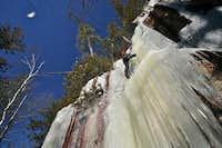 Climbing some Ice