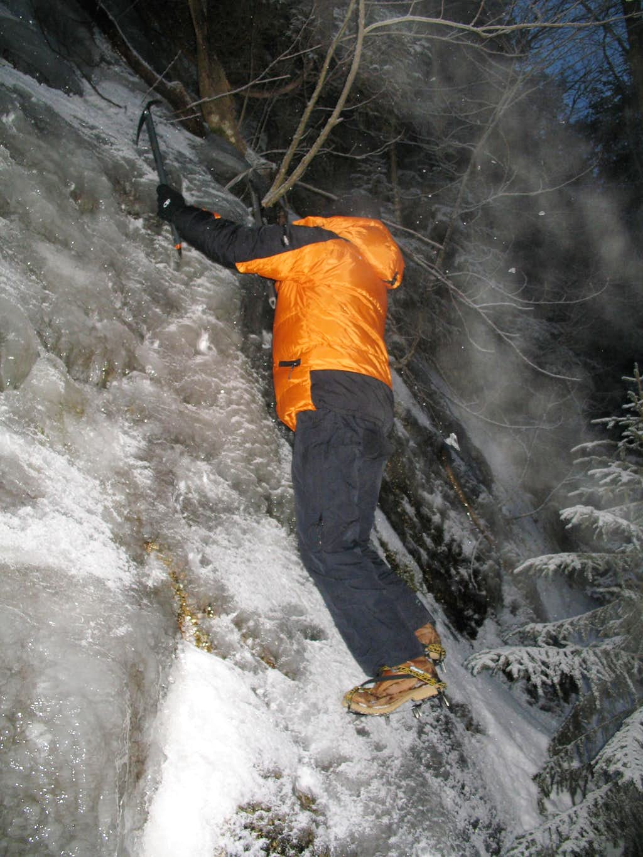 Ice Bouldering