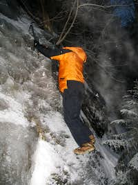 Ice Bouldering