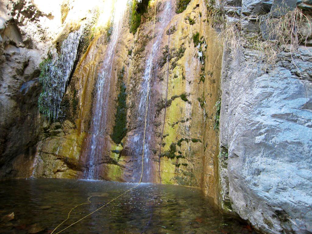 Multi-Water Fall Rappel Allison Gulch