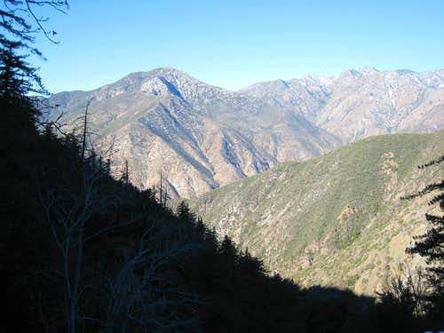 View NW Along Allison Mine Use Trail, San Gabriel Mountains