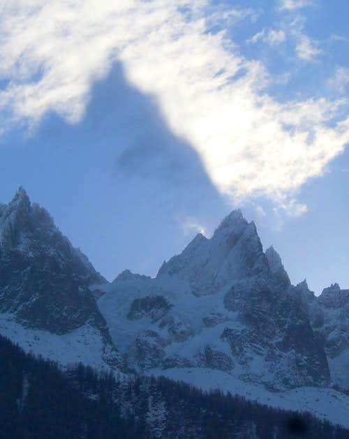 Castle in the Sky (Aiguille du Plan)