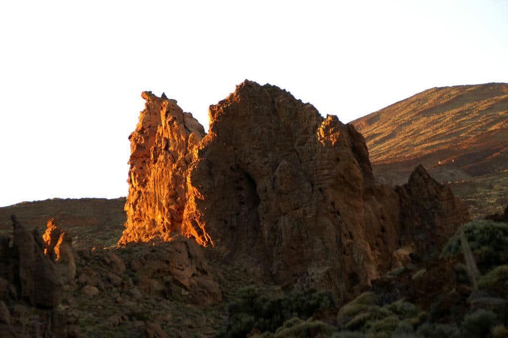Sunset among the Roques de Garcia