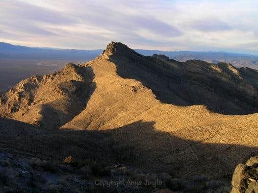 Broken Arrow Peak in afternoon light