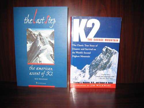 Books on K2 (Not for Voting)
