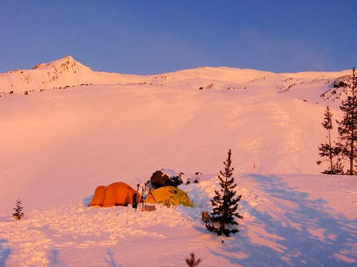 Mt. St. Helens Snow Camp