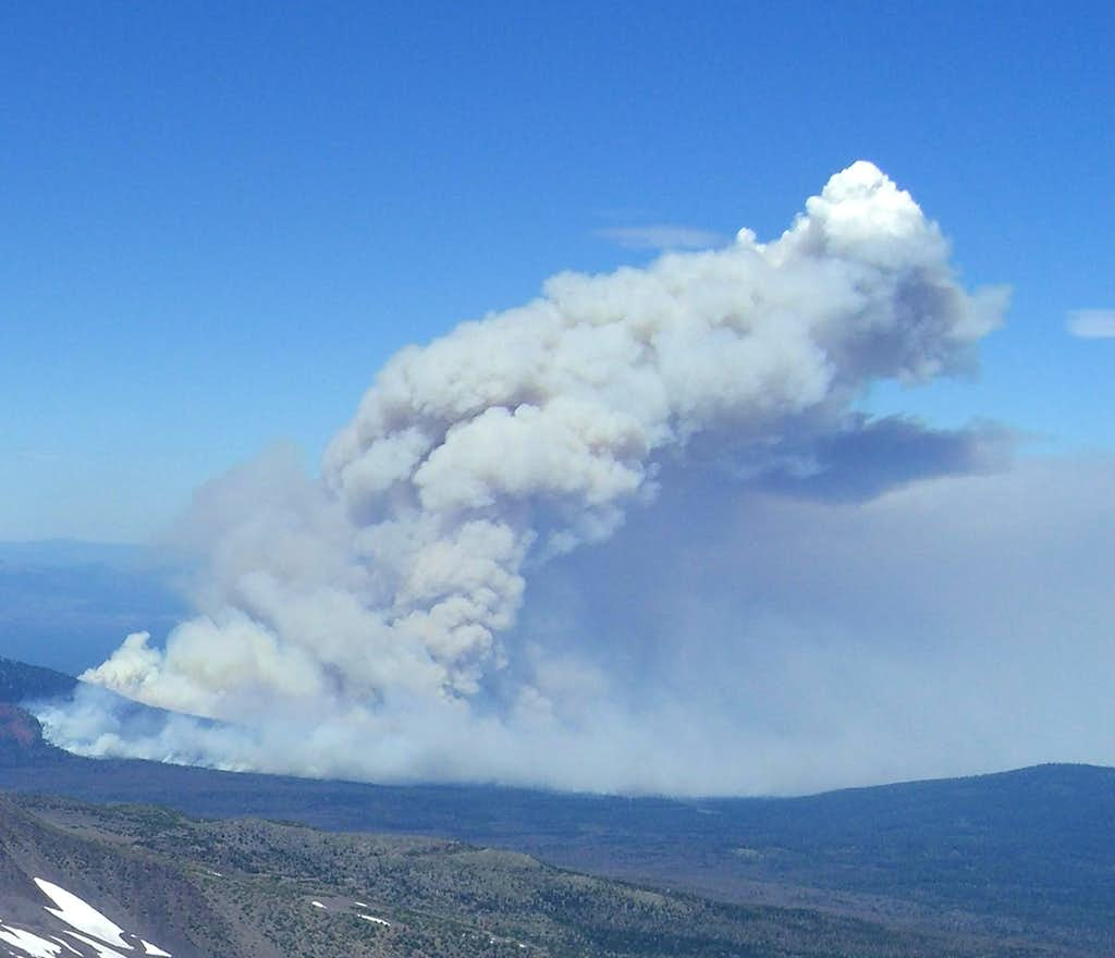 Black Crater Fire '06