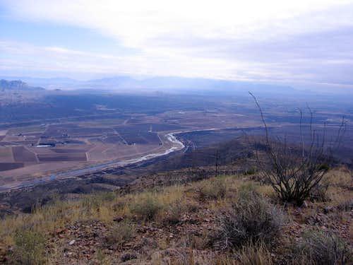 Rio Grande from Robledo