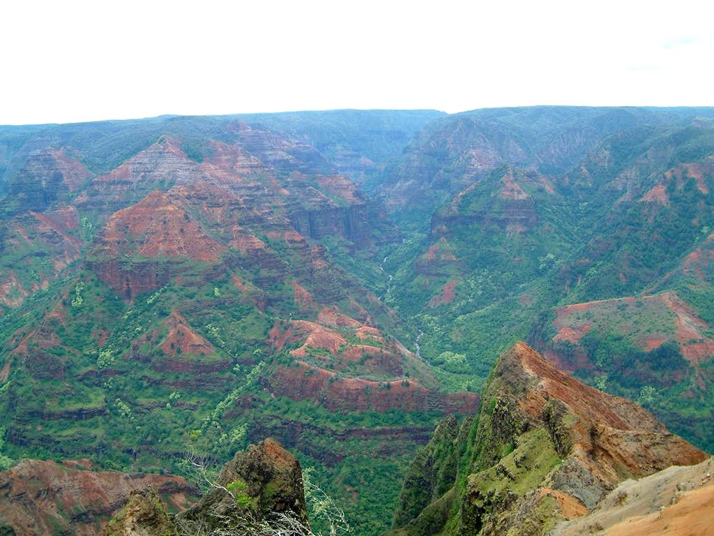 Waimea Canyon - the