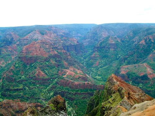 Waimea Canyon - the