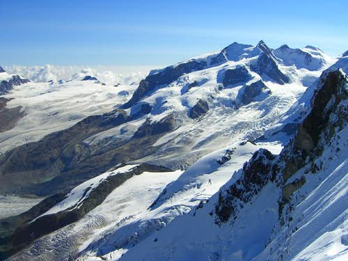 Dufourspitze and Nordend