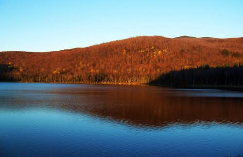 Belvidere Pond and Belvidere Mountain