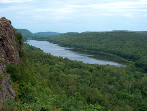 Escarpment - - Lake Superior Loop