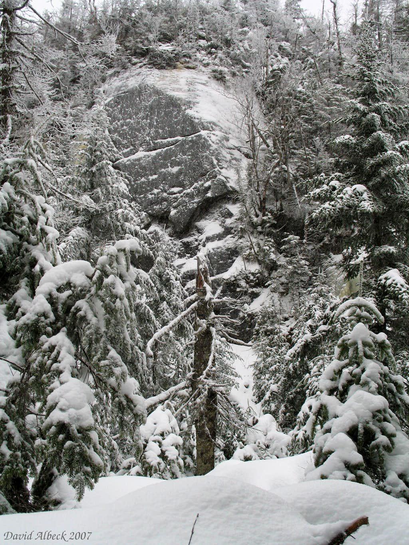 Winter Boulder