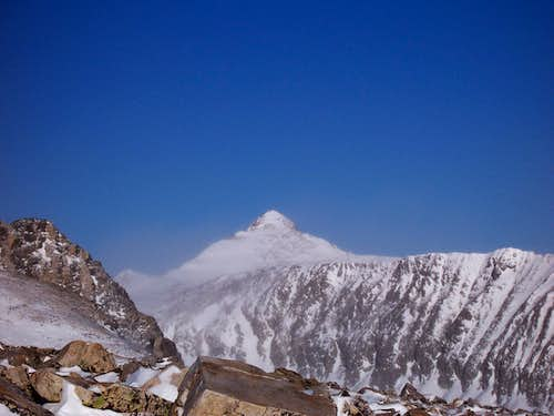 Pacific peak amid Winter