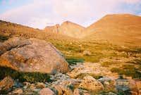 Longs Peak in the Sunrise...