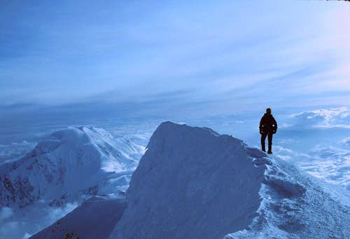 Nearing Denali's Summit
