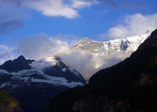 Alpen Glow on Finsteraarhorn