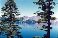 Crater Lake, Wizard Island, Summer
