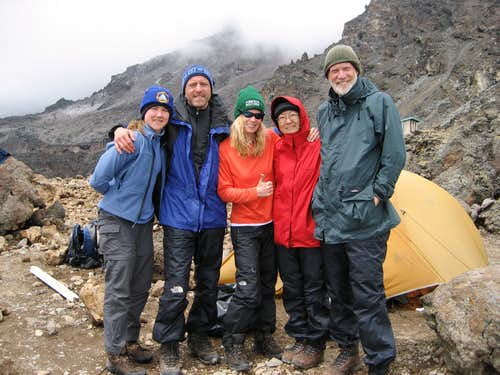 New Friends at Basecamp