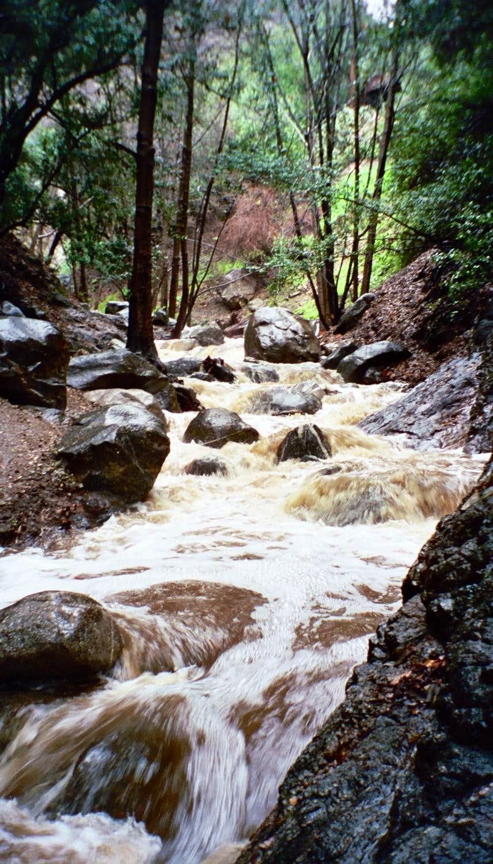 Creek Coming Down From Millard Falls
