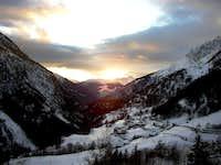 Valpelline sunset